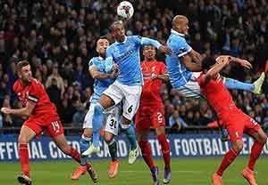 خلاصه کامل بازی  لیورپول 1-1 منچسترسیتی (پنالتی 1-3)