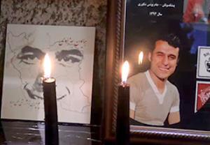 مراسم چهلم همایون خان بهزادی
