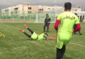 تمرین صبحگاهی تیم ملی فوتبال (اختصاصی ورزش3)