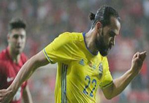 گلهای بازی ترکیه 2-1 سوئد