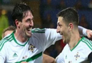 گلهای بازی  ولز 1-1 ایرلند شمالی