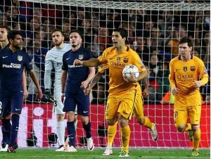 ترکیب اصلی اتلتیکو مادرید- بارسلونا