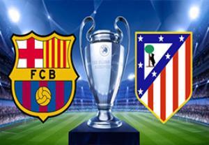 پیش بازی اتلتیکومادرید - بارسلونا