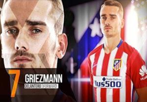 لیست بازیکنان اتلتیکومادرید برای بازی مقابل بارسلونا