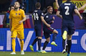 اتلتیکو 2-0 بارسلونا؛ سه گانه تکرار نمی شود