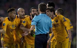 کنایه خواهر رونالدو به حذف بارسلونا