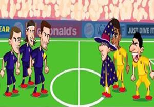 انیمیشن جالب از بازی اتلتیکومادرید - بارسلونا