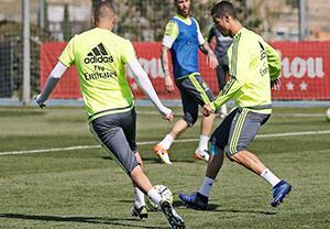 تمرین امروز رئال مادرید (95/01/30)