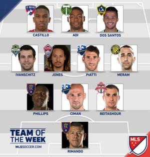 بیت آشور در تیم منتخب هفته MLS (عکس)