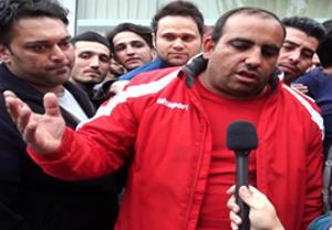 مصاحبه با رئیس کانون هواداران پرسپولیس درباره درگذشت اولادی