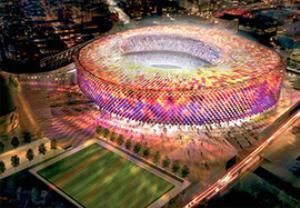 نگاهی به پروژه اسپای بارسا، پروژه بازسازی بارسلونا