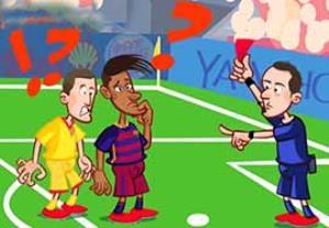 خلاصه بازی بارسلونا - خیخون به روایت کارتون!