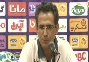 کنفرانس خبری صالح بعد از بازی مقابل تراکتور