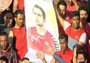 یاد هادی نوروزی در آخرین بازی لیگ برتر