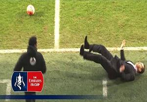 لحظات جالب و طنز در جام حذفی انگلیس