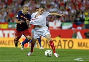 پیش بازی سویا - بارسلونا