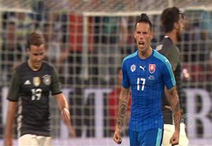 خلاصه بازی آلمان 1- 3 اسلواکی