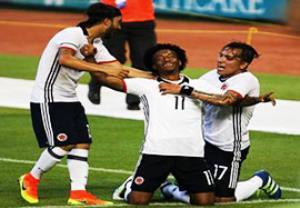 گلهای بازی کلمبیا 3-1 هائیتی