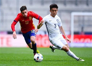 پیروزی پرگل اسپانیا مقابل کره جنوبی
