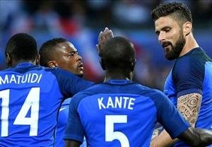 پیروزی پرگل فرانسه مقابل اسکاتلند