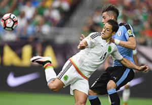 خلاصه بازی مکزیک 3-1 اروگوئه