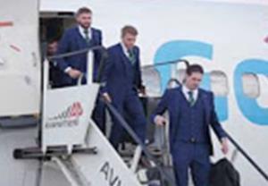 ورود تیم ملی ایرلند شمالی به فرانسه