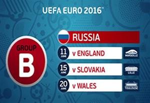 معرفی تیمهای گروه B مسابقات یورو 2016