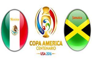 پیش بازی مکزیک - جامائیکا