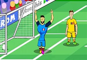 بازی فرانسه - رومانی از نگاه طنز انیمیشن