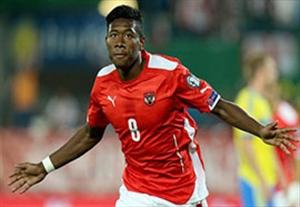 داوید آلابا ستاره درخشان اتریش در یورو 2016