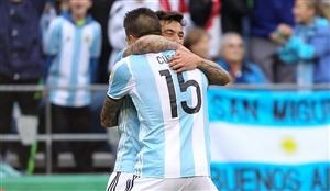 پیروزی پرگل آرژانتین مقابل بولیوی