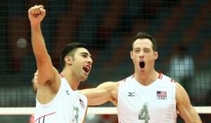صعود والیبال آمریکا با غلبه بر فرانسه
