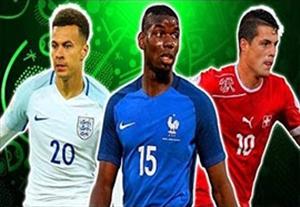 20 هافبک برتر جوان یورو 2016