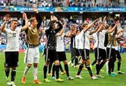 لحظات جالب بعد از بازی آلمان - اسلواکی