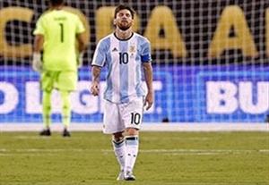 خداحافظی مسی با تیم ملی آرژانتین بعد از کوپا