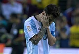 حواشی بازی آرژانتین - شیلی