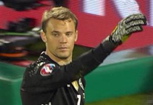 پنالتی های بازی آلمان - ایتالیا