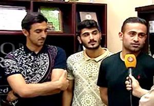 لحظه ثبت قرارداد رحمتی، ابراهیمی و زکیپور با استقلال