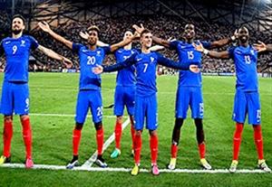 تشویق فرانسوی ها به سبک تماشاگران ایسلند