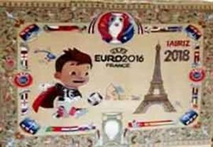 هنر ناب ایرانی زیبنده فینال یورو 2016
