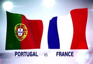 پیش بازی فرانسه - پرتغال
