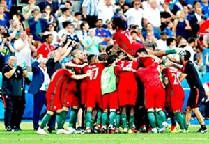خلاصه کامل بازی پرتغال 1-0 فرانسه (HD)