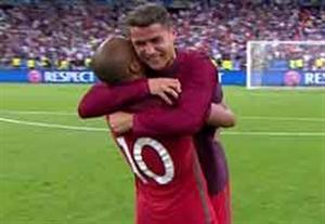 اشکها و لبخندها پس از قهرمانی سخت پرتغال