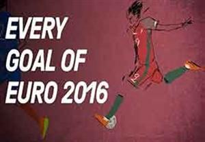 تمام گلهای یورو 2016 در قاب انیمیشن