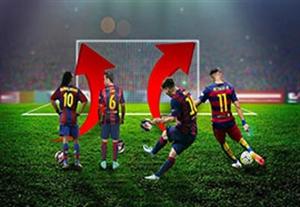 5 ضربه ایستگاهی دقیق و دیدنی بارسلونا