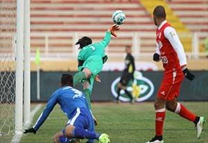 زیباترین واکنش های دروازه بانان برتر فوتبال ایران