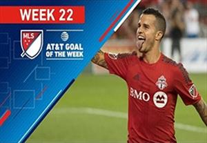گلهای برتر هفته 22 لیگ MLS آمریکا