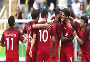 خلاصه بازی الجزایر 1-1 پرتغال