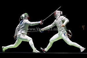 خلاصه مسابقه مجتبی عابدینی در رقابتهای شمشیربازی بوداپست