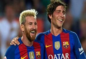 گلهای بازی بارسلونا 3-2 سامپدوریا
